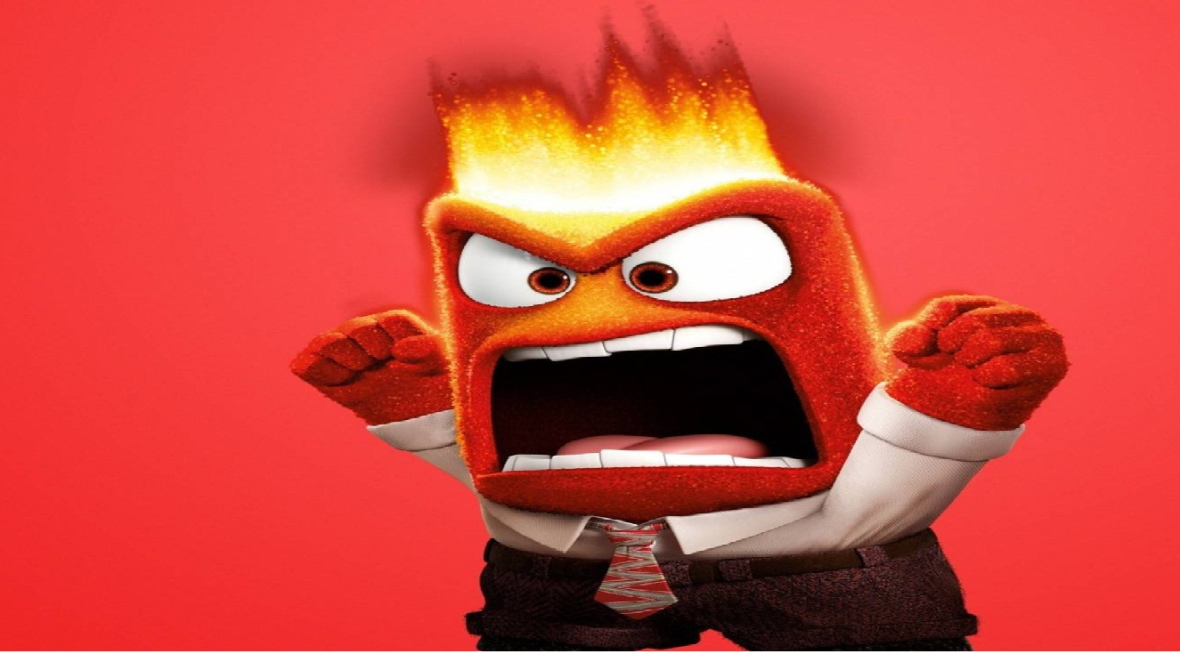 angry boss in the office