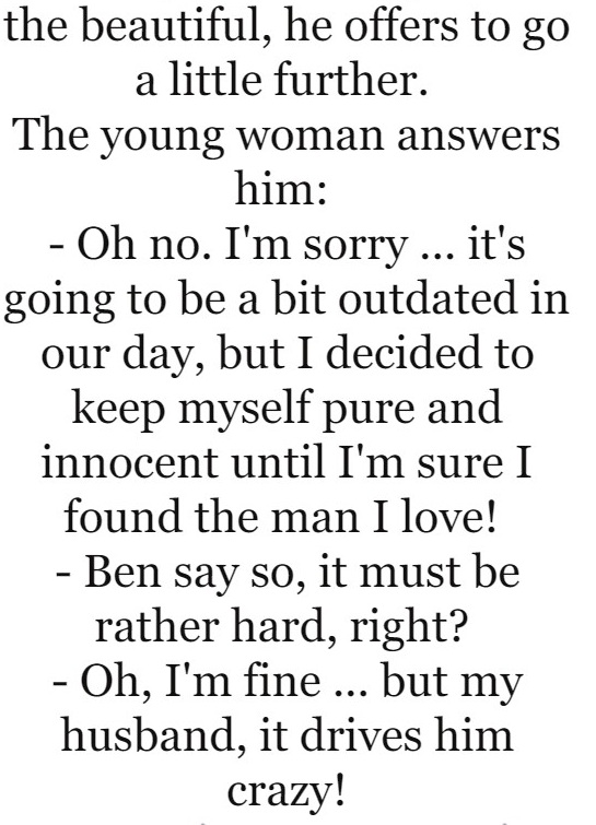 A guy notices a young woman in a bar